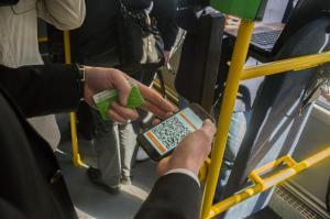 Оплата проезда с использованием смартфона